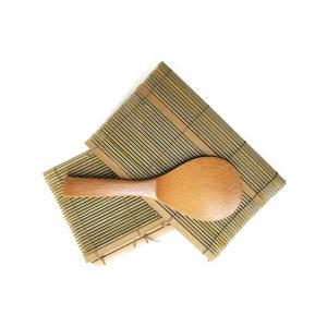 すし巻セット 国産すし巻き×2枚 国産竹しゃもじ×1本 手巻き寿司セット きくすい|kikusuisangyou