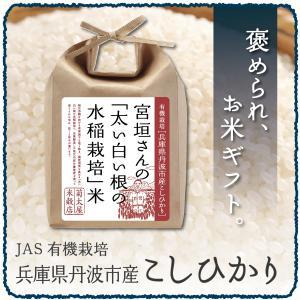 30年産 お米 2kg 兵庫県丹波市産 コシヒカリ 白米 玄米 / 宮垣さんの「太い白い根の水稲栽培」米|kikutayakitchen