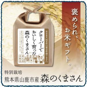 出産内祝い 結婚内祝い お返し お米ギフ「熊本県山鹿市産森のくまさん 2kg」快気祝い 父の日 初節句内祝い お中元 (kuma002)|kikutayakitchen