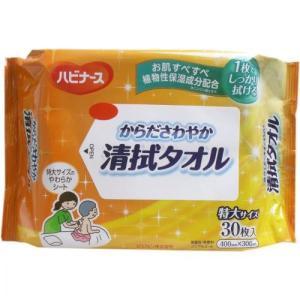 【お取り寄せ】ハビナース からださわやか清拭タオル 30枚入|kikuya174