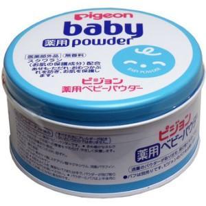 ベビーパウダーJ 薬用ブルー缶 150g|kikuya174