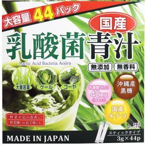 国産 乳酸菌青汁 スティックタイプ 3g×44袋|kikuya174