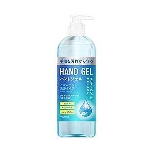 【数量限定】【TOAMIT】ハンドジェル アルコール洗浄タイプ (中国製) 500mL|kikuya174