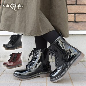 ブーツ ショートブーツ レディース 黒 歩きやすい ローヒー...