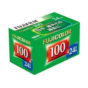 富士フイルム カラーネガフィルム フジカラー FUJICOLOR 100 24枚撮り