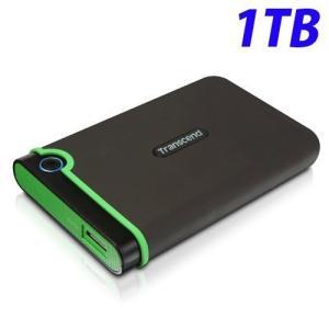 トランセンド USB3.1 2.5インチ ポータブルHDD 耐衝撃 M3シリーズ 1TB TS1TS...