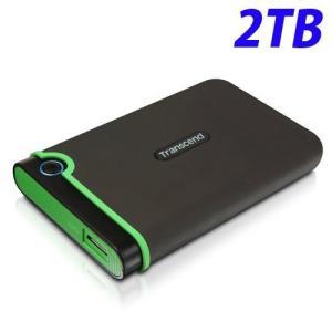 トランセンド USB3.1 2.5インチ ポータブルHDD 耐衝撃 M3シリーズ 2TB TS2TS...