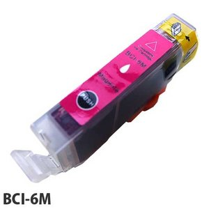 『売切れ御免』 『ポイント10倍』エコパック 互換インク Canon BCI-6M対応 マゼンタ|kilat