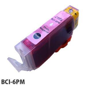 『売切れ御免』 『ポイント10倍』エコパック 互換インク Canon BCI-6PM対応 フォトマゼンタ|kilat