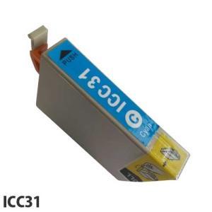 『売切れ御免』 『ポイント10倍』エコパック 互換インク EPSON ICC31対応 シアン|kilat