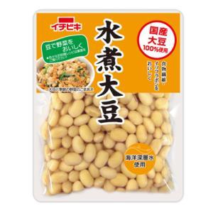 イチビキ 国産水煮大豆 155g