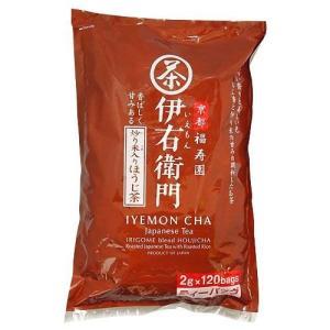 宇治の露製茶 伊右衛門 炒り米入りほうじ茶ティーバッグ 120パック入
