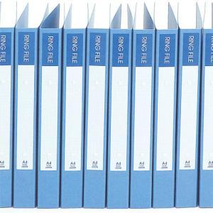 『売切れ御免』 ビュートン リングファイル ブルーPP 10冊 30mm|kilat