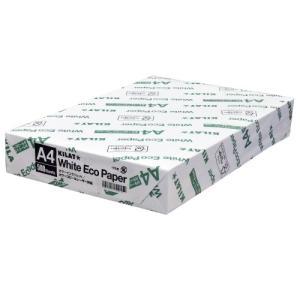 『コピー用紙』キラット ホワイトエコペーパー A4サイズ 1冊(500枚)|kilat