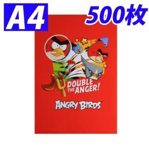 『限定商品』 コピー用紙 A4 500枚 1冊 Ver.アングリーバードパッケージ|kilat