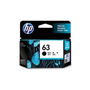 HP HP63 (F6U62AA) ブラック 純正品