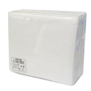 GOOD-J 不織布ケース 100枚『両面収納タイプ』CD DVD BR ケース 収納 収納ケース|kilat