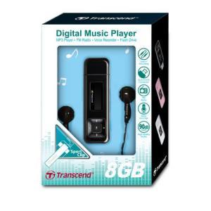 トランセンド MP3プレーヤー T.sonic 330 TS8GMP330K 『8GB』