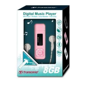 トランセンド MP3プレーヤー T.sonic 330 TS8GMP330P 『8GB』