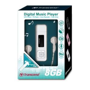 トランセンド MP3プレーヤー T.sonic 330 TS8GMP330W 『8GB』
