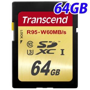TS64GSDU3 トランセンド SDXCカード 64GB|kilat
