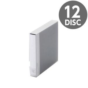 『売切れ御免』 CCD-FB12BU エレコム Blu-ray/DVD/CD用ディスクファイル 12枚収納 ブルー|kilat