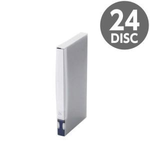 『売切れ御免』 CCD-FB24BU エレコム Blu-ray/DVD/CD用ディスクファイル 24枚収納 ブルー|kilat