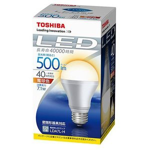 『売切れ御免』 東芝 LED電球 E-CORE LDA7L-H E26〔電球色〕 kilat