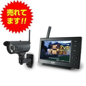 『代引不可』 ワイヤレスカメラモニターセット CMS-7110 『返品不可』