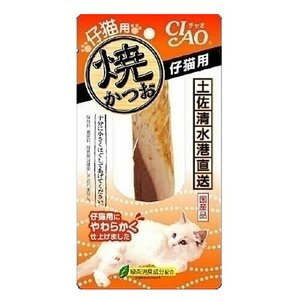 チャオ 焼かつお 子猫用(仔猫用) 1本