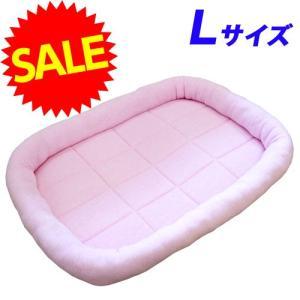 ペットプロ タオルマット Lサイズ ピンク 〔犬 猫 マット ベッド ペット 激安〕