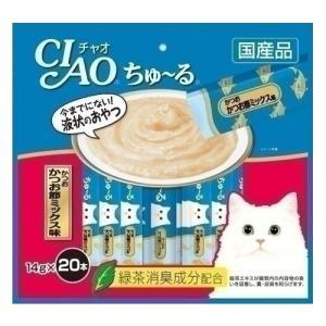 いなば CIAO チャオ ちゅ〜る かつお かつお節ミックス味 14g×20本 SC-130 国産|kilat