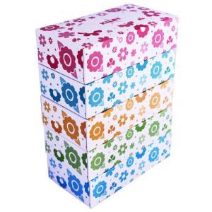 『日本製』『お1人様5パックまで』日本製ボックスティッシュ ティッシュペーパー 150組(150W) 1パック(5箱)|kilat