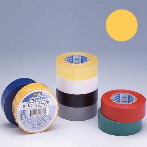 ニトムズ ビニールテープS 19×10mm 黄|kilat