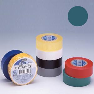 ニトムズ ビニールテープS 19×10mm 緑|kilat