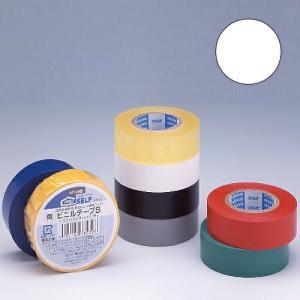 ニトムズ ビニールテープS 19×10mm 白|kilat