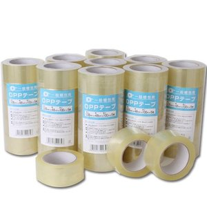 OPPテープ 厚さ0.05mm 48mm×100M  150巻 透明梱包用テープ キラットオリジナル kilat