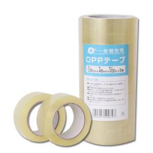 OPPテープ GRATES 厚さ0.05mm 48mm×100m 透明 5巻 kilat