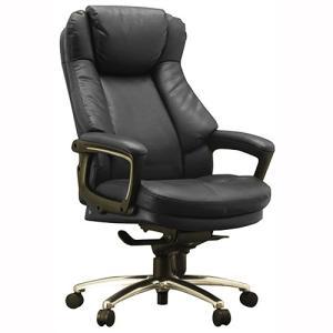 『代引不可』 ワーキングチェア スリンキー ECOレザー ブラック 108698 インテリア 家具 オフィス家具|kilat