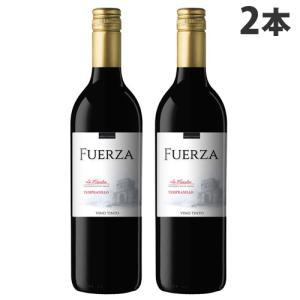 『スペイン直輸入』フエルザ・ティント 赤ワイン Fuerza Vino 1セット(2本)|kilat