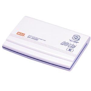 『売切れ御免』 マックス 瞬乾スタンプ台 藍 SA902-12|kilat