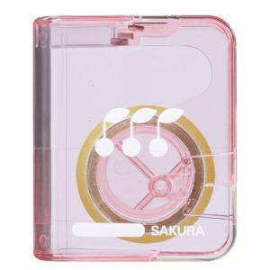 『売切れ御免』 サクラクレパス テープカッター収納式 ピンク 287181 kilat