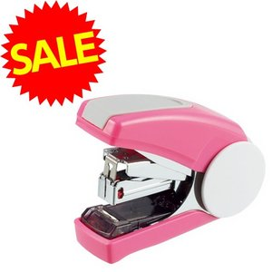 『売切れ御免』 ライオン事務器 かるホッチ ホッチキス ピンク 25枚綴じフラット FS-30-P 『最安値挑戦&数量限定』|kilat