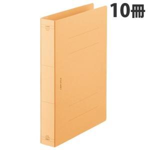『売切れ御免』 ライオン事務器 フラットファイル 特厚とじ A4S 黄 10冊 AX-517S-10P|kilat