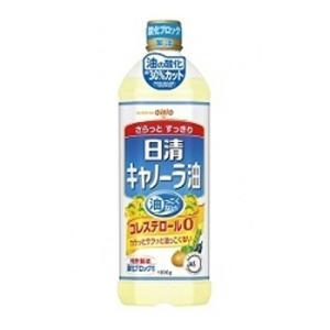 「100円OFFクーポン配布中」日清キャノーラ油 1000g