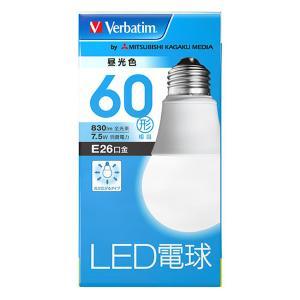 『売切れ御免』三菱化学メディア バーベイタム LED電球 E26 昼光色 60形 LDA8D-G/V4|kilat