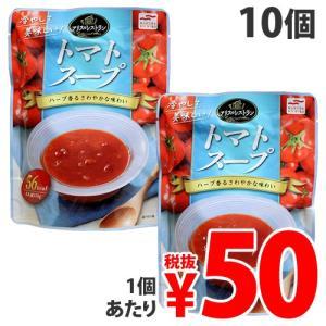 『売切れ御免』『賞味期限:19.06.18』 マルハニチロ アリスのレストラン 冷製トマトスープ 150g×10個|kilat
