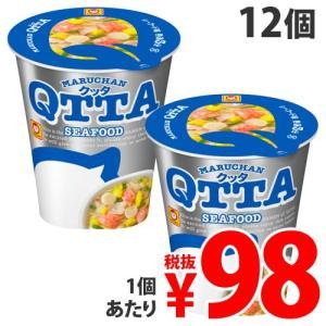 『賞味期限:19.08.01』東洋水産 マルちゃん QTTA シーフード カップ 78g×12個|kilat