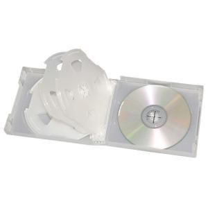 CD&DVD ソフトケース 10枚収納 クリア|kilat