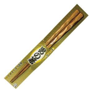 極太 彫刻木箸 24.5cm 栗|kilat